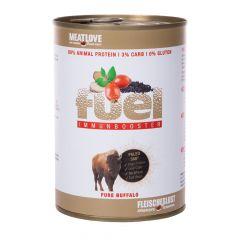 Fleischeslust - Nassfutter - Fuel Immunbooster Weidebüffel 6 x 410g (getreidefrei)