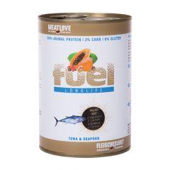 Fleischeslust - Nassfutter - Fuel Longlife Thunfisch & Meeresfrüchte (getreidefrei)