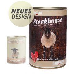 Fleischeslust - Nassfutter - Steakhouse Lamm Pur