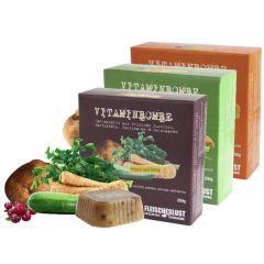 Fleischeslust - Ergänzungsfutter - Vitaminbombe gemischtes Sortiment (getreidefrei)