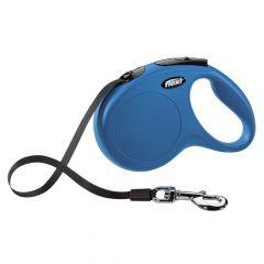 Flexi - Hundeleine - New Classic Gurt-Leine blau
