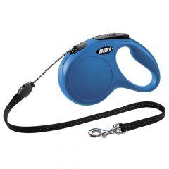 Flexi - Hundeleine - New Classic Seil-Leine blau