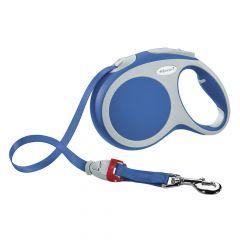 Flexi - Hundeleine - Vario Gurt-Leine blau Gr.XS 3m