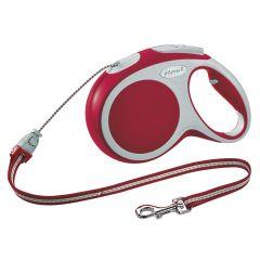 Flexi - Hundeleine - Vario Seil-Leine rot Gr.XS 3m