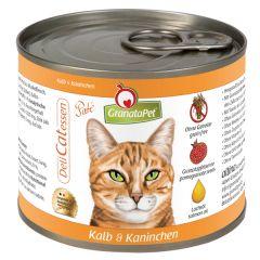 GranataPet - Nassfutter - DeliCatessen Kalb und Kaninchen (getreidefrei)