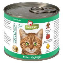 GranataPet - Nassfutter - DeliCatessen Kitten Geflügel (getreidefrei)