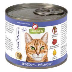 GranataPet - Nassfutter - DeliCatessen Weißfisch und Wildragout (getreidefrei)