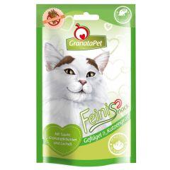 GranataPet - Katzensnack - Feinis Geflügel und Katzengras (getreidefrei)