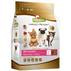 GranataPet - Trockenfutter - Liebling's Mahlzeit Mini Sensitive Kaninchen (getreidefrei)
