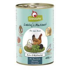 GranataPet - Nassfutter - Liebling's Mahlzeit Huhn & Pastinaken (getreidefrei)
