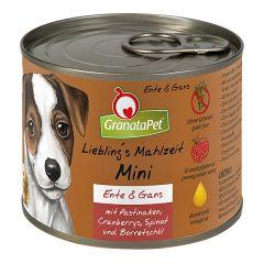 GranataPet - Nassfutter - Liebling's Mahlzeit Mini Ente & Gans (getreidefrei)