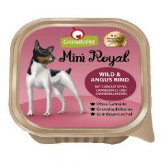 GranataPet - Nassfutter - Mini Royal Wild & Angus, Süßkartoffel, Cranberry und Sonnenblumenöl (getreidefrei)