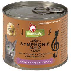 GranataPet - Nassfutter - Symphonie No. 2 Garnelen & Truthahn (getreidefrei)
