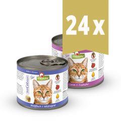 GranataPet - Nassfutter - Vorteilspaket DeliCatessen Mix 24 x 200g