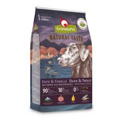 GranataPet - Trockenfutter - Natural Taste Ente & Forelle (getreidefrei)