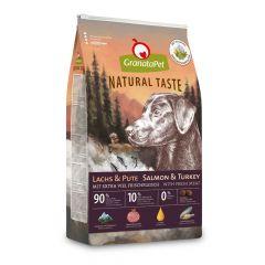GranataPet - Trockenfutter - Natural Taste Lachs & Pute (getreidefrei)
