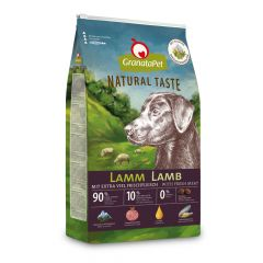 GranataPet - Trockenfutter - Natural Taste Lamm (getreidefrei)