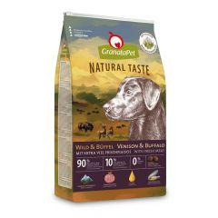GranataPet - Trockenfutter - Natural Taste Wild & Büffel (getreidefrei)