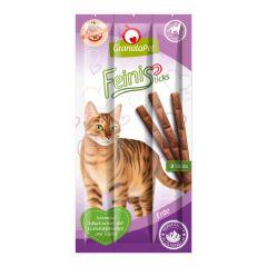 GranataPet - Katzensnack - FeiniSticks Ente (getreidefrei)
