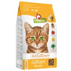 GranataPet - Trockenfutter - DeliCatessen Geflügel Kitten (getreidefrei)