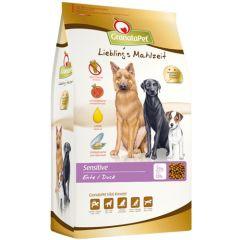 GranataPet - Trockenfutter - Liebling's Mahlzeit Sensitive mit leckerer Ente (getreidefrei)