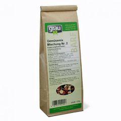 grau - Ergänzungsfutter - Gemüsemix Mischung Nr. 2 (getreidefrei)