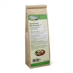 grau - Ergänzungsfutter - Gemüsemix Mischung Nr. 3 (getreidefrei)