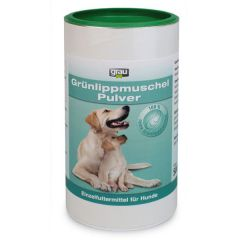 grau - Ergänzungsfutter - Grünlippmuschel Pulver