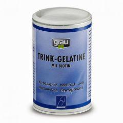 grau - Ergänzungsfutter - Trink-Gelatine mit Biotin