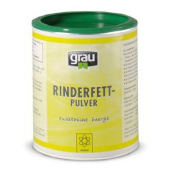 grau - Ergänzungsfutter - Rinderfettpulver