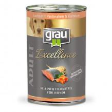 grau - Nassfutter - Vorteilspaket Excellence 24 x 400g