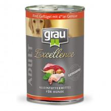 grau - Nassfutter - Vorteilspaket Excellence 12 x 400g