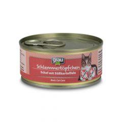 grau - Nassfutter - Schlemmertöpfchen Schaf mit Süßkartoffel (getreidefrei)
