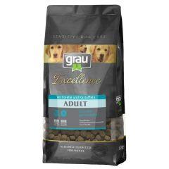 grau - Trockenfutter - Excellence Adult Forelle & Kartoffel (getreidefrei)