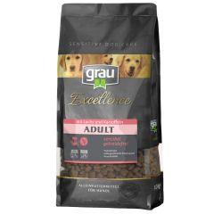 grau - Trockenfutter - Excellence Adult mit Lachs & Kartoffel (getreidefrei)