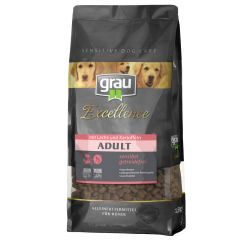 grau - Trockenfutter - Excellence Adult mit Lachs & Kartoffel 1,5kg (getreidefrei)