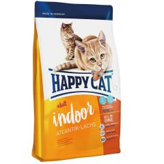 Happy Cat - Trockenfutter - Supreme Indoor Atlantik-Lachs