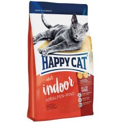 Happy Cat - Trockenfutter - Supreme Indoor Voralpen-Rind