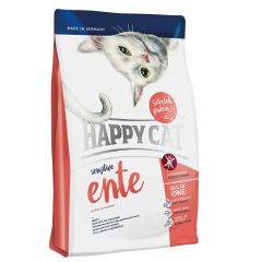Happy Cat - Trockenfutter - Sensitive Ente