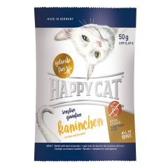 Happy Cat - Trockenfutter - Sensitive Grainfree Kaninchen 50g (getreidefrei)