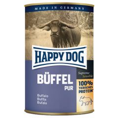 Happy Dog - Nassfutter - Single Protein Büffel Pur (getreidefrei)