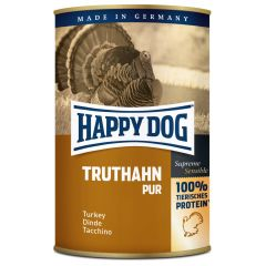 Happy Dog - Nassfutter - Single Protein Truthahn Pur (getreidefrei)