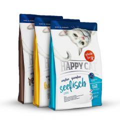 Happy Cat - Trockenfutter - Probepaket Grainfree 3 x 300g