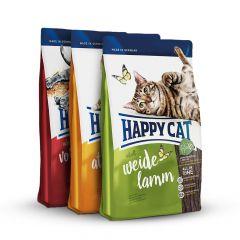 Happy Cat - Trockenfutter - Supreme Vorteilspaket 3 x 1,4kg