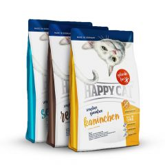 Happy Cat - Trockenfutter - Vorteilspaket Grainfree 3 x 1,4kg