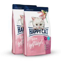 Happy Cat - Trockenfutter - Vorteilspaket Kitten 2 x 4kg