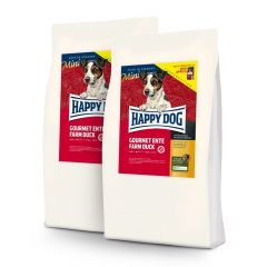 Happy Dog - Trockenfutter - Vorteilspaket Mini Ente 2 x 4kg