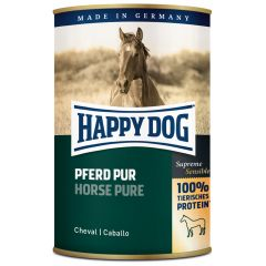 Happy Dog - Nassfutter - Single Protein Pferd Pur (getreidefrei)