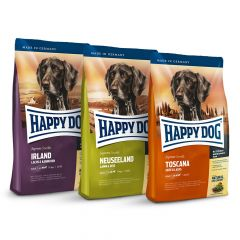 Happy Dog - Trockenfutter - Supreme Weltreise 3 x 4kg