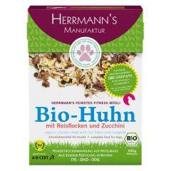 Herrmann's - Trockenfutter - Fitnessmüsli Bio-Huhn mit Reisflocken und Zucchini